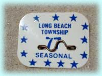 1977 Beach Badge